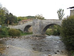 La Rabia bridge. Zubiri, Navarra. 12th century.